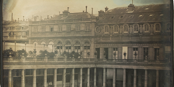 Daguerre The Royal Palace 1840 National Technical Museum web