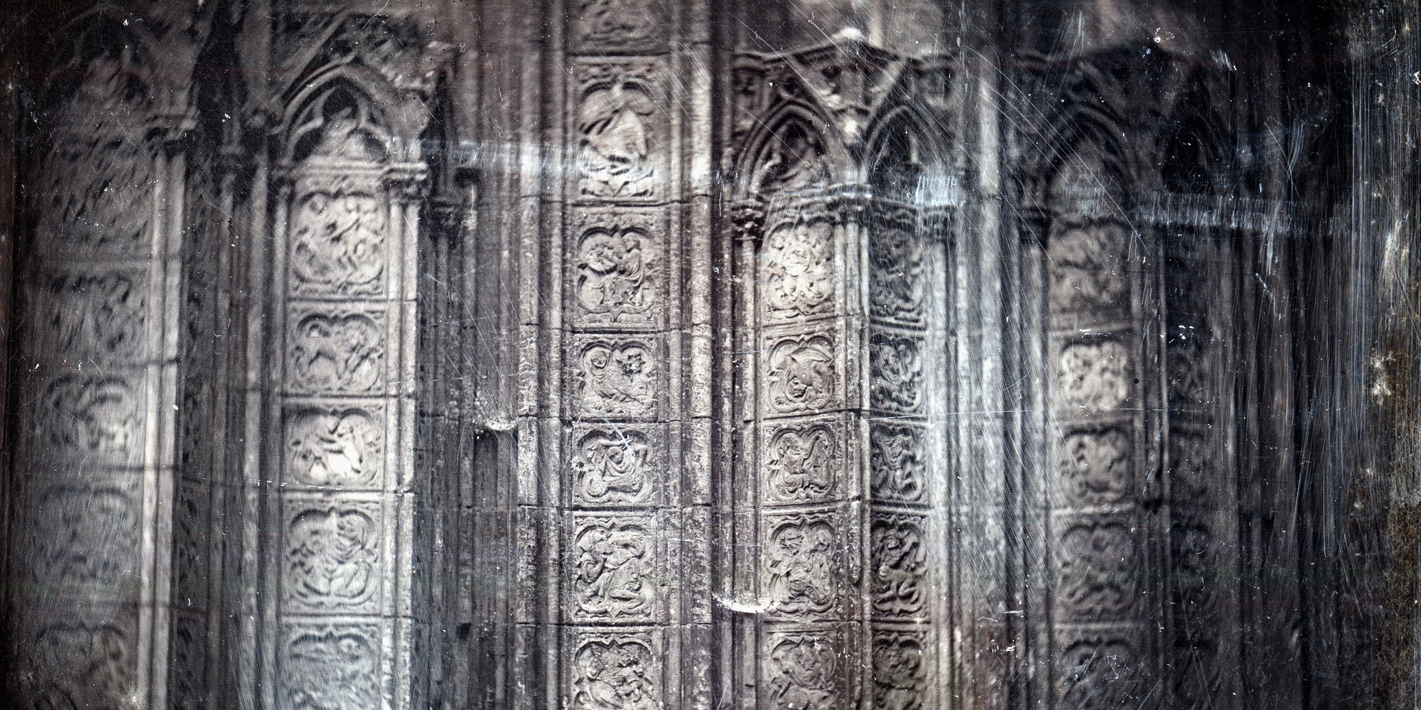 John Ruskin and unidentif daguerreotypist Rouen The Cathedral of Notre Dame Jacobson web